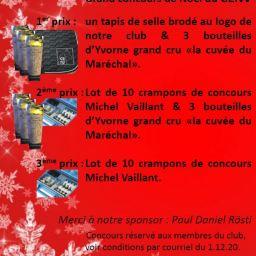Concours photo de Noël – réservé aux membres CENV